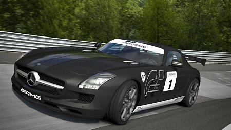 GT5 メルセデス・ベンツ SLSAMGステルスモデル
