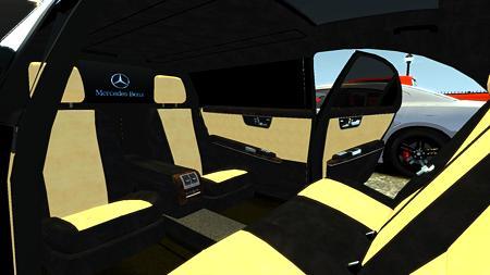 Mercedes-Benz S600車内2