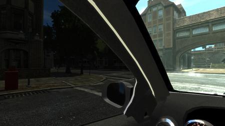 GTAIV Mercedes-Benz GL450 Brabus 車内視点2